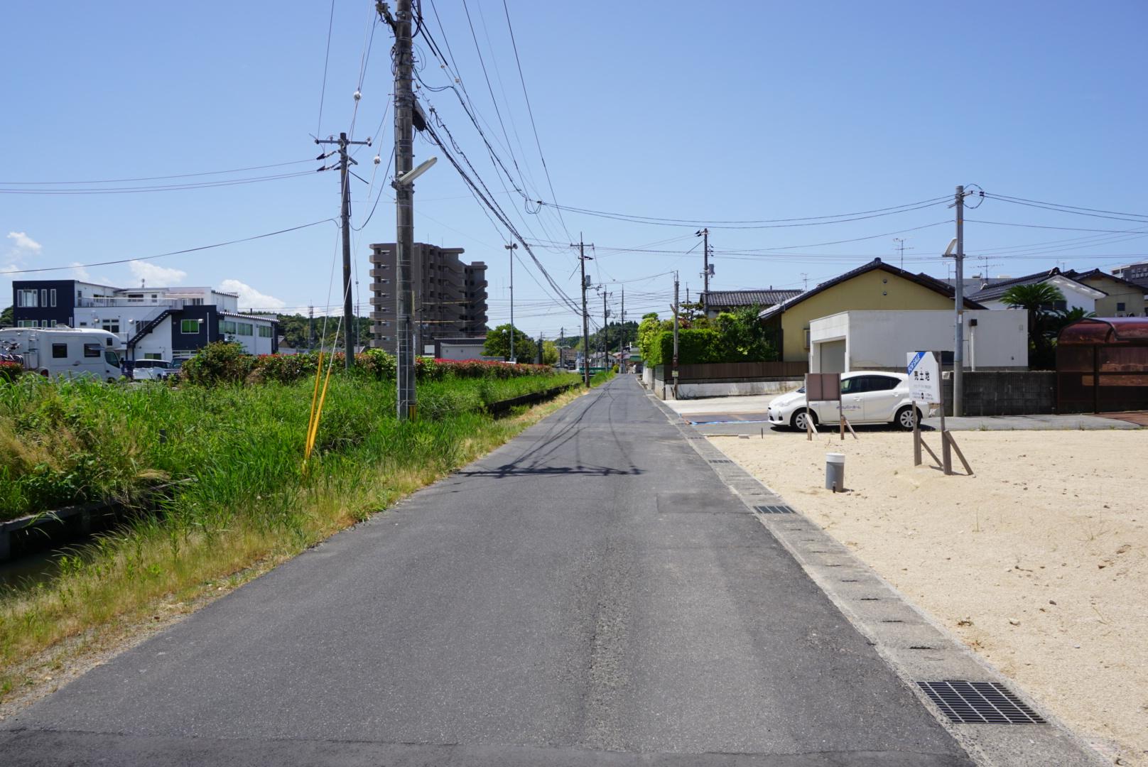 黒田町分譲地